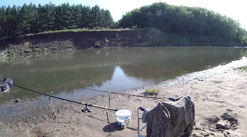 Tackles for catching bream in summer and winter