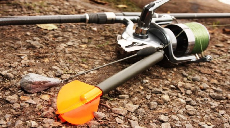 Carp fishing with spinning