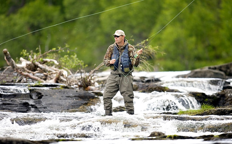 Some tips in fly fishing