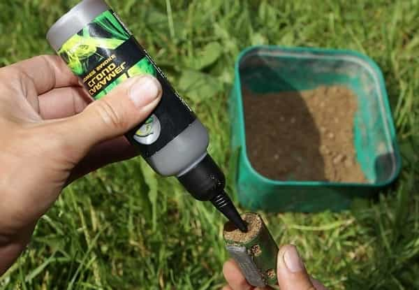 How to apply them attractants