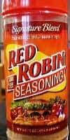 Red Robin Seasoning