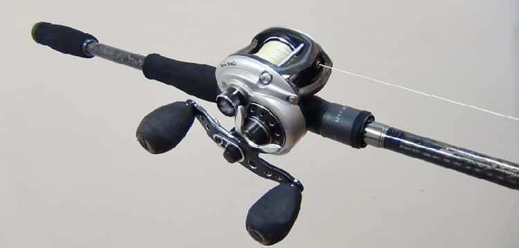 low profile multiplier reel