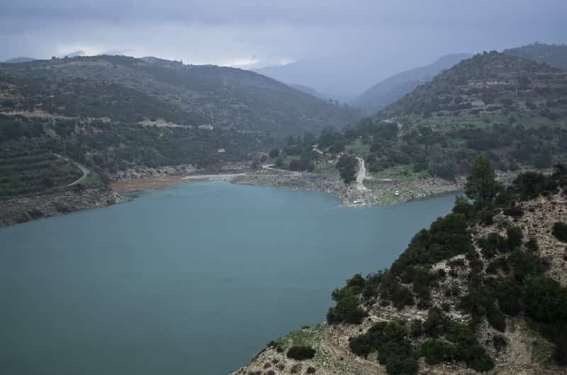Kouris reservoir