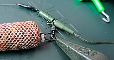 Carp accessories and fishing methods
