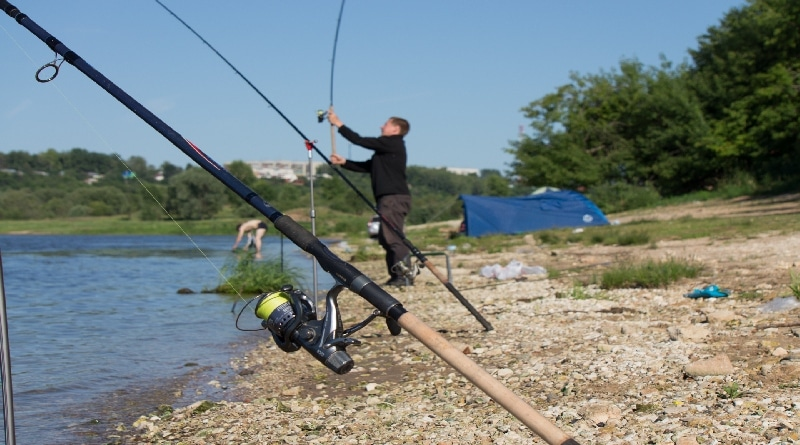 Feeder Rod and Fishing Methods They