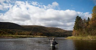 fly fishing on large rivers